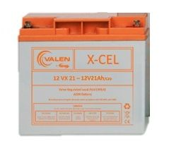 Battery, 12v 21 A/hr, Valen (Excel) Brand