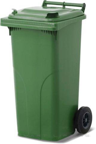 MGB120-CGG Complete Green/Green 120L Mobile Garbage Bin - Europlast