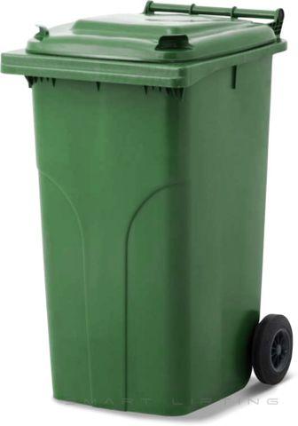 MGB240-CGG Complete Green/Green 240L Mobile Garbage Bin - Europlast