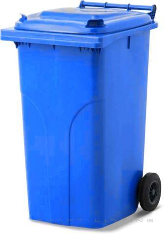 MGB240-CBB Complete Blue/Blue 240L Mobile Garbage Bin - Europlast
