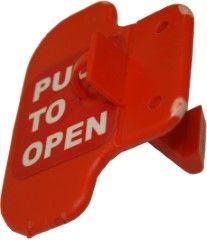 Plastic door catch and Magnet Set