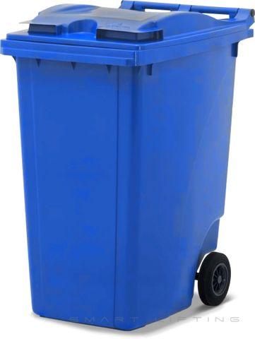 MGB360-CBB Complete Blue/Blue 360L Mobile Garbage Bin - Europlast