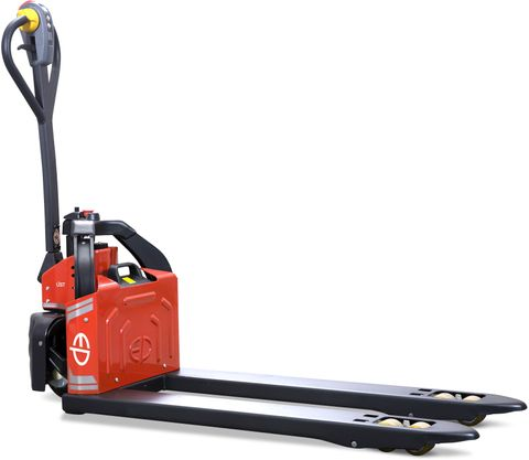 EPT12-EZ-PRO-N4 -  Li-ion 0.8t powered pallet truck with plug&play battery (narrow 4-way forks)
