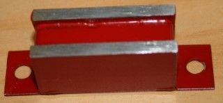 Rectangular Red door magnet