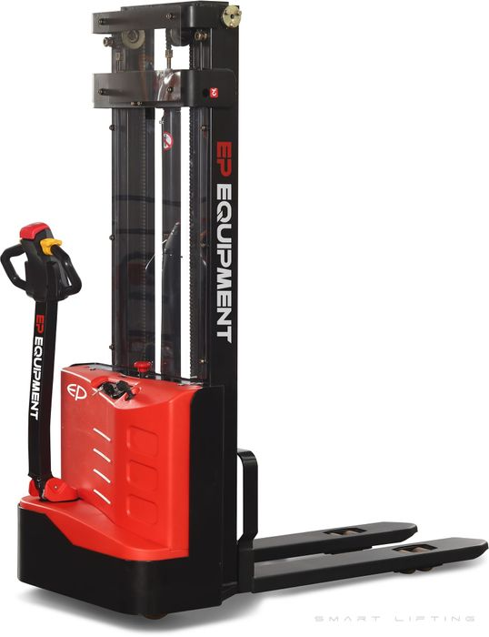 ES10-10ES-3000 - SME 1.0t walkie Europallet stacker with onboard charger & 3.0m lift