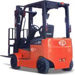 CPD20L1-4800 - 2.0t electric forklift with Li-ion batteries, triplex 4.8m lift & sideshift