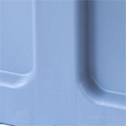Megabin MB610S - HDPE bulk produce bin with solid walls, 1000 x 1200 x 760 (CTR4)