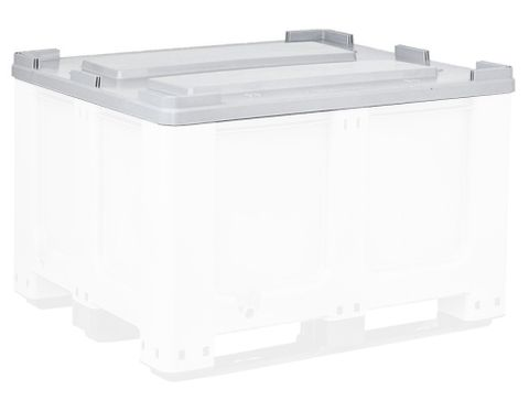 Megabin Lid MB610L - Fitted HDPE lid for 610L Megabins