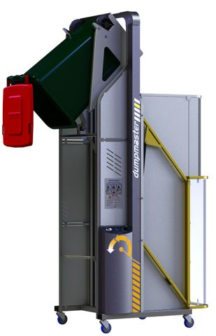 DM UPGRADE: Lift up locking door with locking electrical interlock.