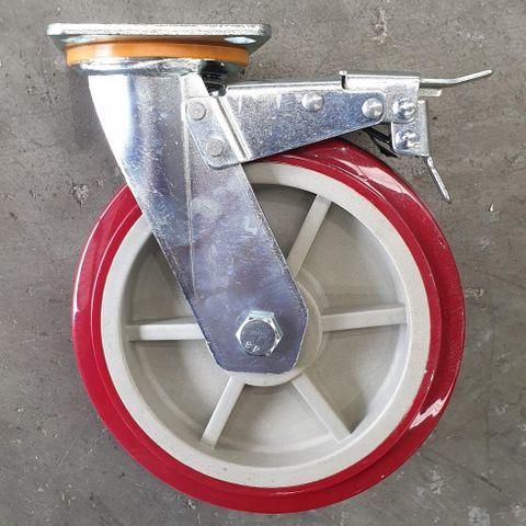 Castor, 200mm, braked MHU200/P TB