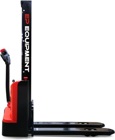 ES10-10MM-1600 - SME 1.0t monomast walkie Europallet stacker with onboard charger and 1.6m lift