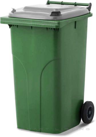 MGB240-CGGR Complete Green/Grey 240L Mobile Garbage Bin - Europlast