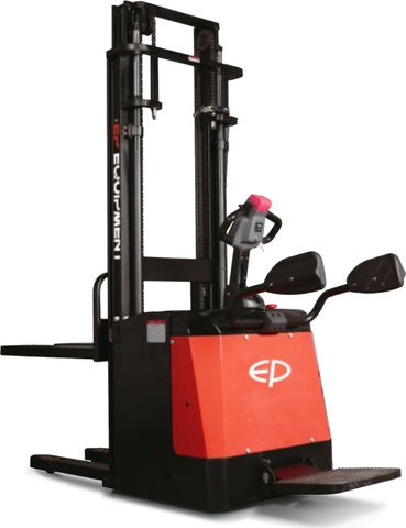 ES20-20RAS-3000 - Pro 2.0t ride-on Europallet stacker with external charger & duplex 3.0m lift