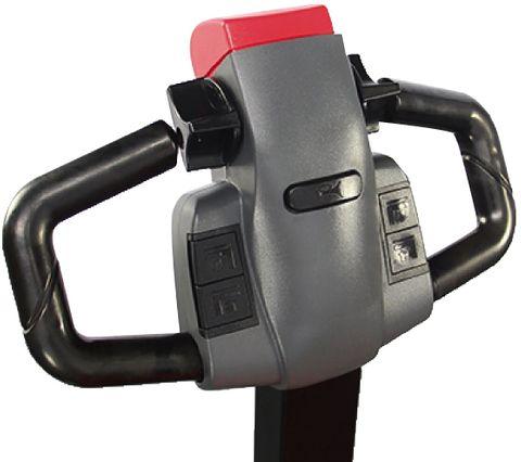 ES16-16WA-3000 - Pro 1.6t walkie Europallet stacker with external charger & duplex 3.0m lift