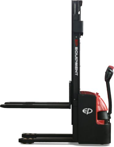 ES16-16WA-3600 - Pro 1.6t walkie Europallet stacker with external charger & duplex 3.6m lift