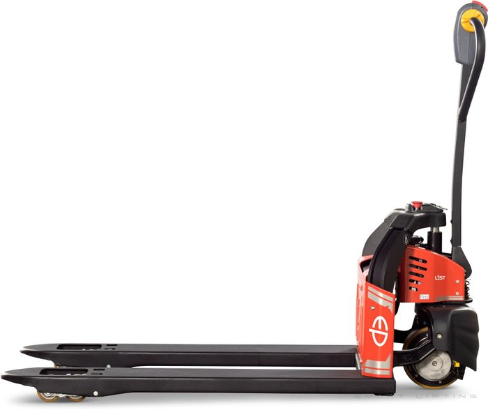 EPT12-EZ-PRO-N4L - Li-ion 0.8t powered pallet truck with plug&play battery (narrow 4-way fork, long)