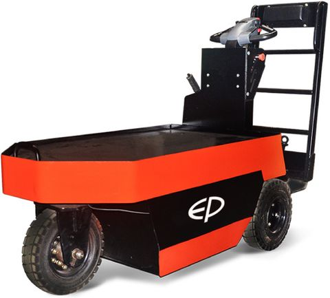 QDD25P - Pro 2.5t electric tow tractor & order picker, with standing operation and 7km/h top speed