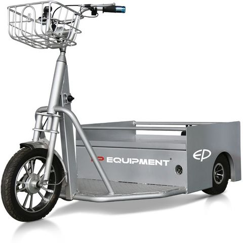QDD03 - SME 250kg electric tow tractor, mobility scooter and order-picker with 14km/h top speed