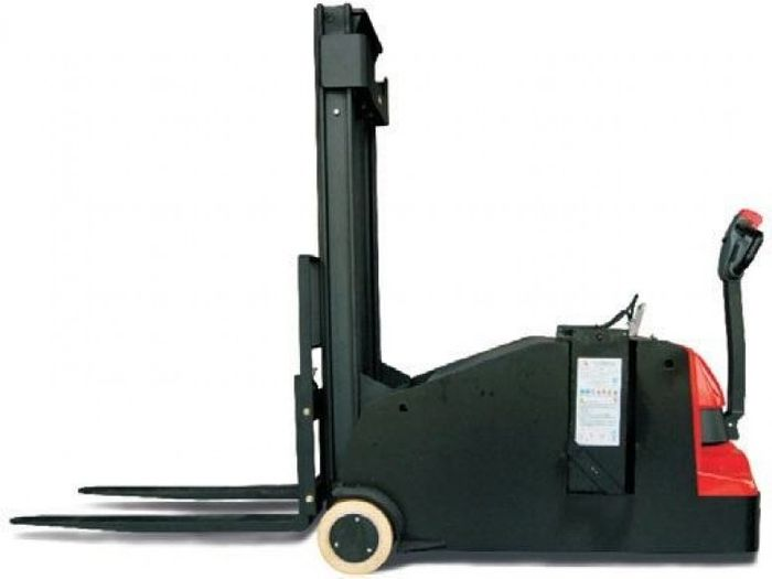 ES10-10CA-3300 - Pro 1.0t counterbalance walkie stacker with legless design and 3.3m duplex lift