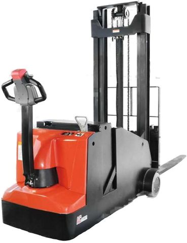 ES10-10CA-3600 - Pro 1.0t counterbalance walkie stacker with legless design and 3.6m duplex lift