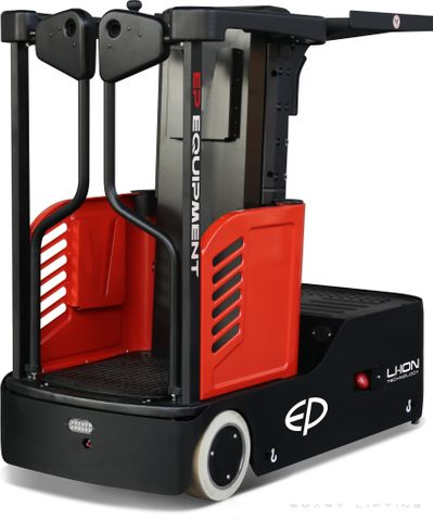 JX0-L3000 // SME mobile order picker with 3000mm platform height & 24V/85Ah LFP battery