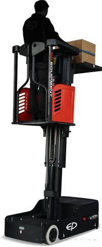 JX0-L3000 - Li-ion vertical order picker and task-support vehicle with 3000mm lift & Li-ion battery