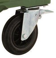 MGB660-1100 Wheels - Europlast (with brake)