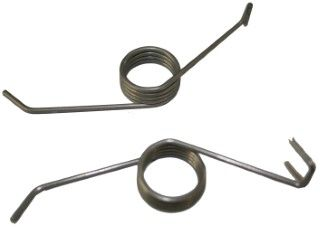 DM 120L and 140L Catch Springs L & R Pairs for the pressed cradles