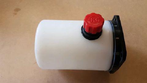 Tank, 1.0l round horizontal  plastic for KS Power packs