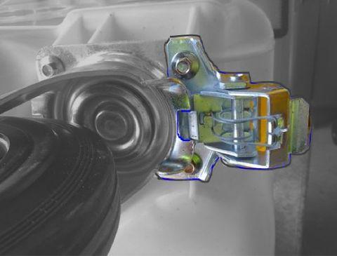 MGBTS-CDL - MGB castor directional-lock for Simpro Europlast bins