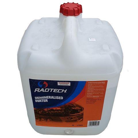 RADTECH De-mineralised water (20L)