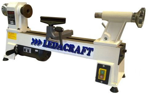 "MINI WOOD LATHE 457MM (18"") CAST IRON BE"