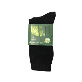 KOWHAI BAMBOO SOCK 4PC PACK SIZE 6-11