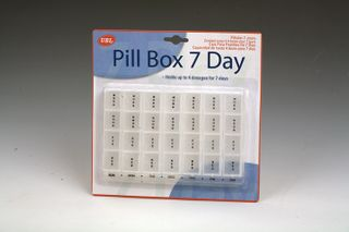 PILL BOX ORGANISER 7 DAYS/4 WEEKS