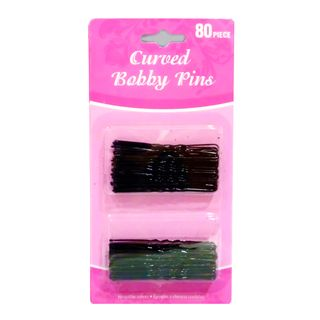 CURVED BOBBY PINS 80 PIECE