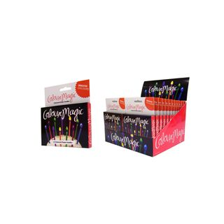 ZITOS COLOUR FLAME CANDLES (24)