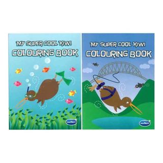 COLOURING BOOK THE KIWI 80 PAGE
