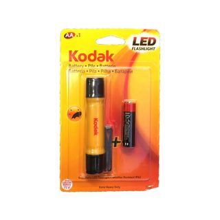 KODAK LED FLASHLIGHT + AA BATTERY