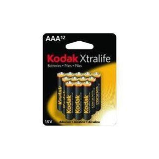 KODAK XTRALIFE ALK BATT AAA 12PKCTN OF4