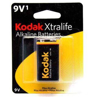 KODAK XTRALIFE BATT ALK 9V 1PK CTN OF 12
