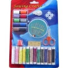 SEWING KIT WITH SCISSORS