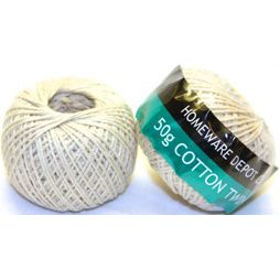 STATIONERY COTTON TWINE 50 GRAM