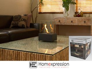 ECO FRIENDLY FIRE PLACE SQUARE