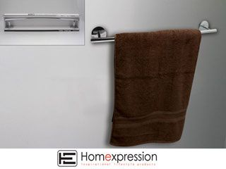TOWEL RAIL - CHROME