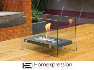 ECO FRIENDLY FIRE PLACE RECT 36X18X22CM