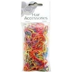 HAIR TIES SNAG FREE ASSORTED COLOURS