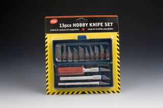 HOBBY KNIFE SET 13 PC