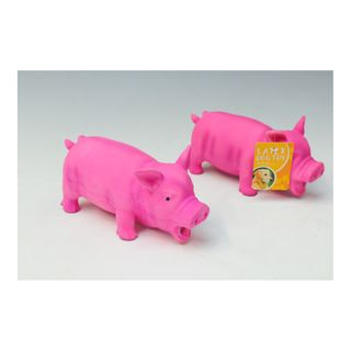 DOG TOY  - PIG MADE FROM LATEX