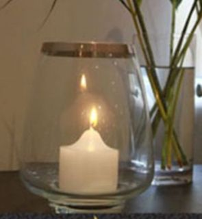 LARGE CANDLE LAMP