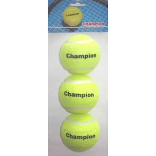 BALLS CHAMPION TENNIS 3PIECE/SET